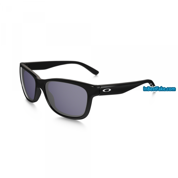 a418ee506e Oakley Forehand Women Sunglasses Polished Black with Grey Lens ...