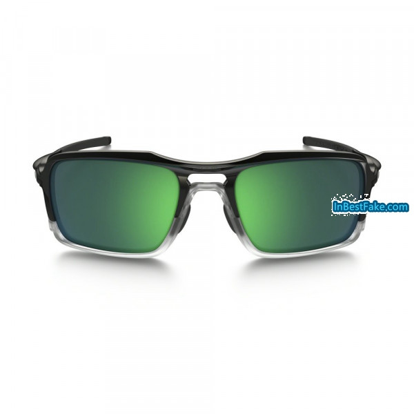 1a16b4d1ed43cb Oakley Triggerman Sunglasses Polished Black   Jade Iridium Lens ...
