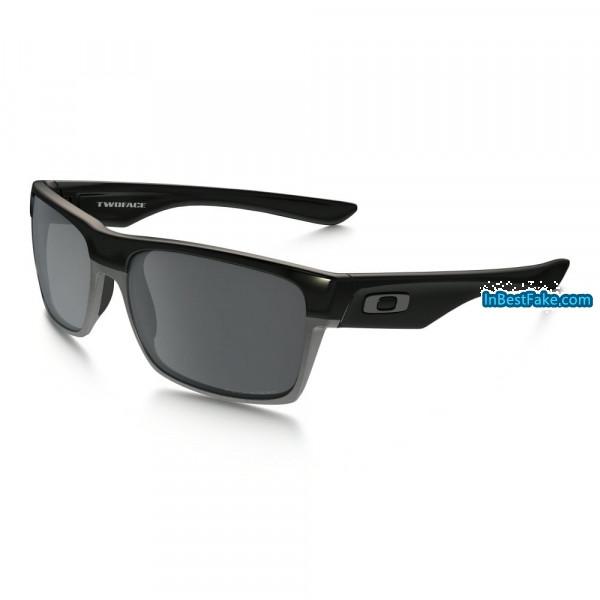 ee489ca2bf Oakley Two Face Polished Black   Black Iridium Polarized Lens - Fake ...