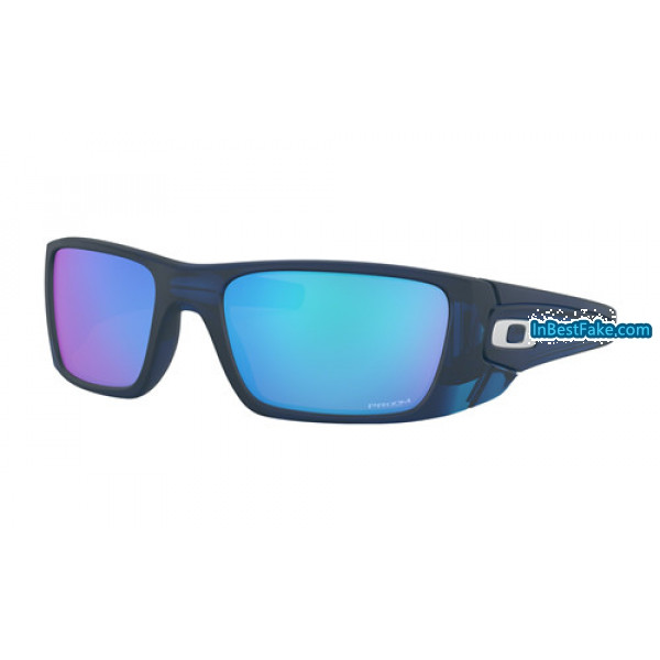 93f97a4e61c Best fake Oakley Fuel Cell Sunglasses Matte Translucent Blue with ...