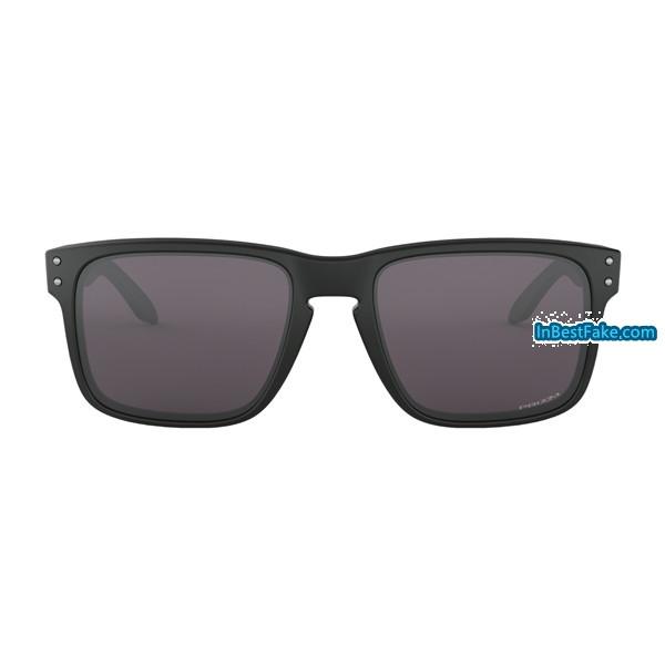 a4b52187841 Cheap fake Oakley Holbrook Sunglasses Matte Black with Prizm Grey ...
