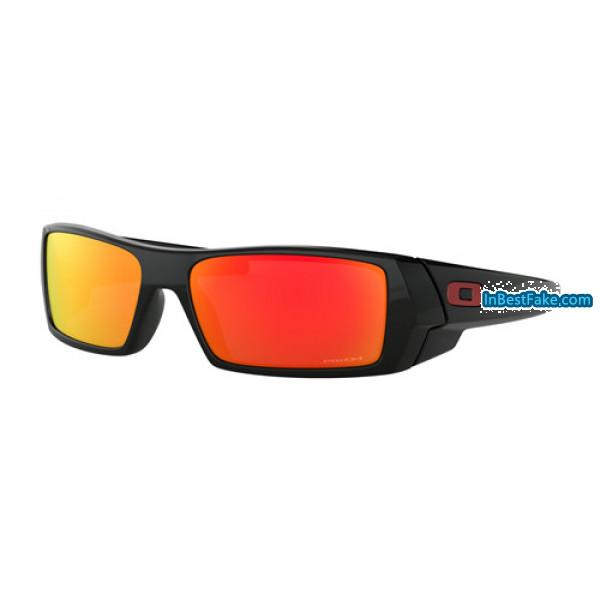 24b6ca7ede Fake Oakley Gascan Sunglasses Polished Black with Prizm Ruby Lens ...
