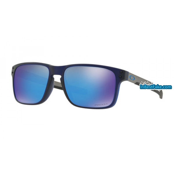 258806bec3e Oakley Holbrook Mix Men Sunglasses Matte Translucent Blue with Prizm ...