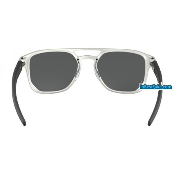 e4c3869e2b Oakley Latch Alpha Sunglasses Matte Silver with Prizm Black ...