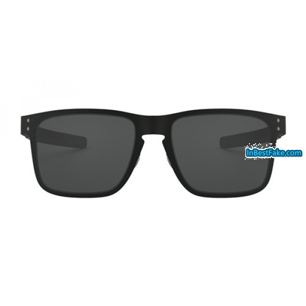 152beffca0 Replica Oakley Holbrook Metal Sunglasses Matte Black with Grey Lens ...