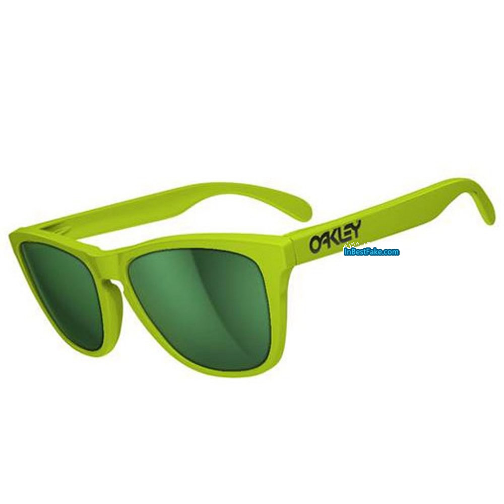 89422d4356 Oakley Frogskins Sunglasses Aspen Green   Emerald Iridium Lens - Fake Oakley  sunglasses