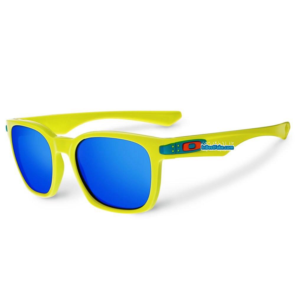 b5ab3b6dd24 Oakley Garage Rock Sunglasses Neon Yellow   Ice Iridium Lens - Fake Oakley  sunglasses