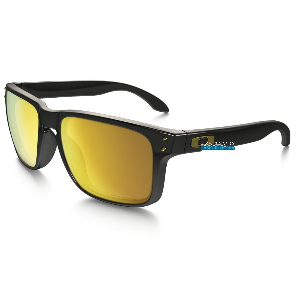 c1048e78d0 Oakley Holbrook Shaun White Polished Black   24k Gold Iridium Lens - Fake Oakley  sunglasses