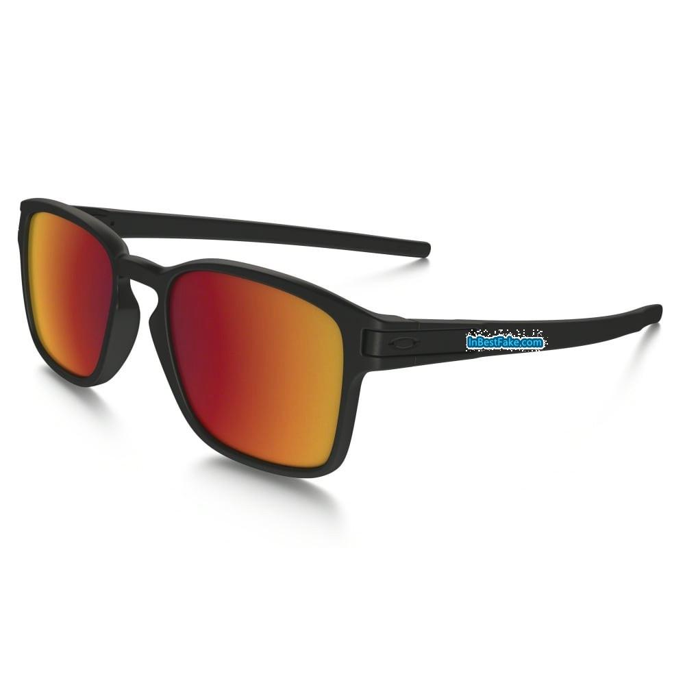 55e700058f Oakley Latch Squared Sunglasses Matte Black   Torch Iridium Lens - Fake  Oakley sunglasses