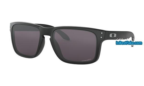 26b36a577cc Cheap fake Oakley Holbrook Sunglasses Matte Black with Prizm Grey Lens - replica  Oakleys