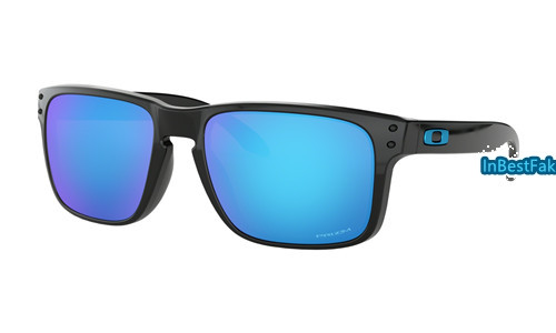 1eeb4f50f3f Cheap Oakley Holbrook Sunglasses Polished Black with Prizm Sapphire Lens - knockoff  Oakleys