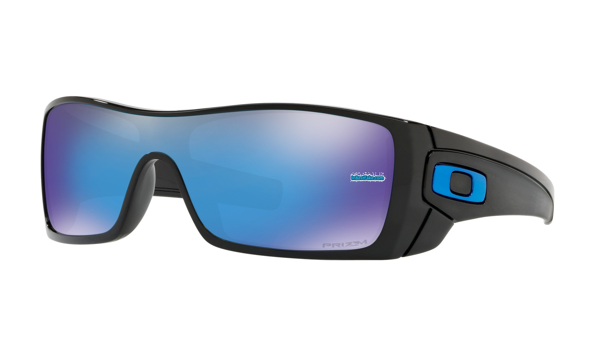 d20094ae7a Foakley Batwolf Sunglasses Polished Black with Prizm Sapphire Lens - fake  Oakley sunglasses