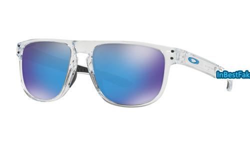 e50f51d028 Oakley Holbrook R Men Sunglasses Clear with Prizm Sapphire Lens - fake  Oakley sunglasses