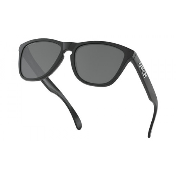 4f11ee3c9f Cheap Oakley Frogskins Sunglasses Polished Black with Prizm Black ...