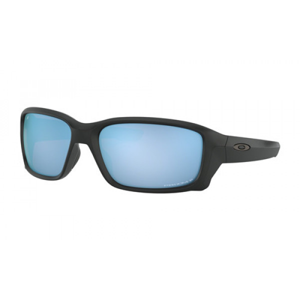 7375412291a Fake Oakley Straightlink Sunglasses Matte Black with Prizm Deep ...