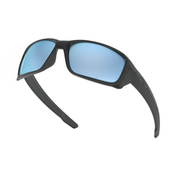 cdd1ae04a5 Fake Oakley Straightlink Sunglasses Matte Black with Prizm Deep ...