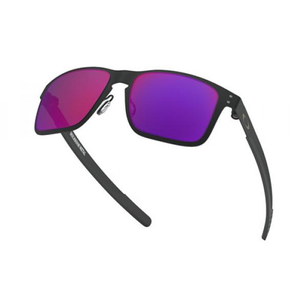 Knockoff Oakley Holbrook Metal Sunglasses Matte Black with Positive ... 2d6c7c3f0f